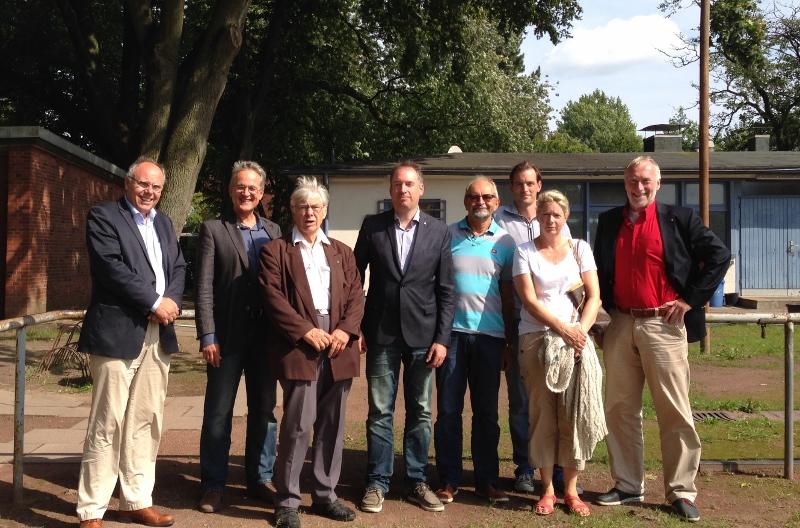 Peter Schreiber, Martin Hildebrandt, Dieter Harz, Niels Annen, Reinhard Körte, Marc Schemmel, Martina Koeppen, Holger Hansen