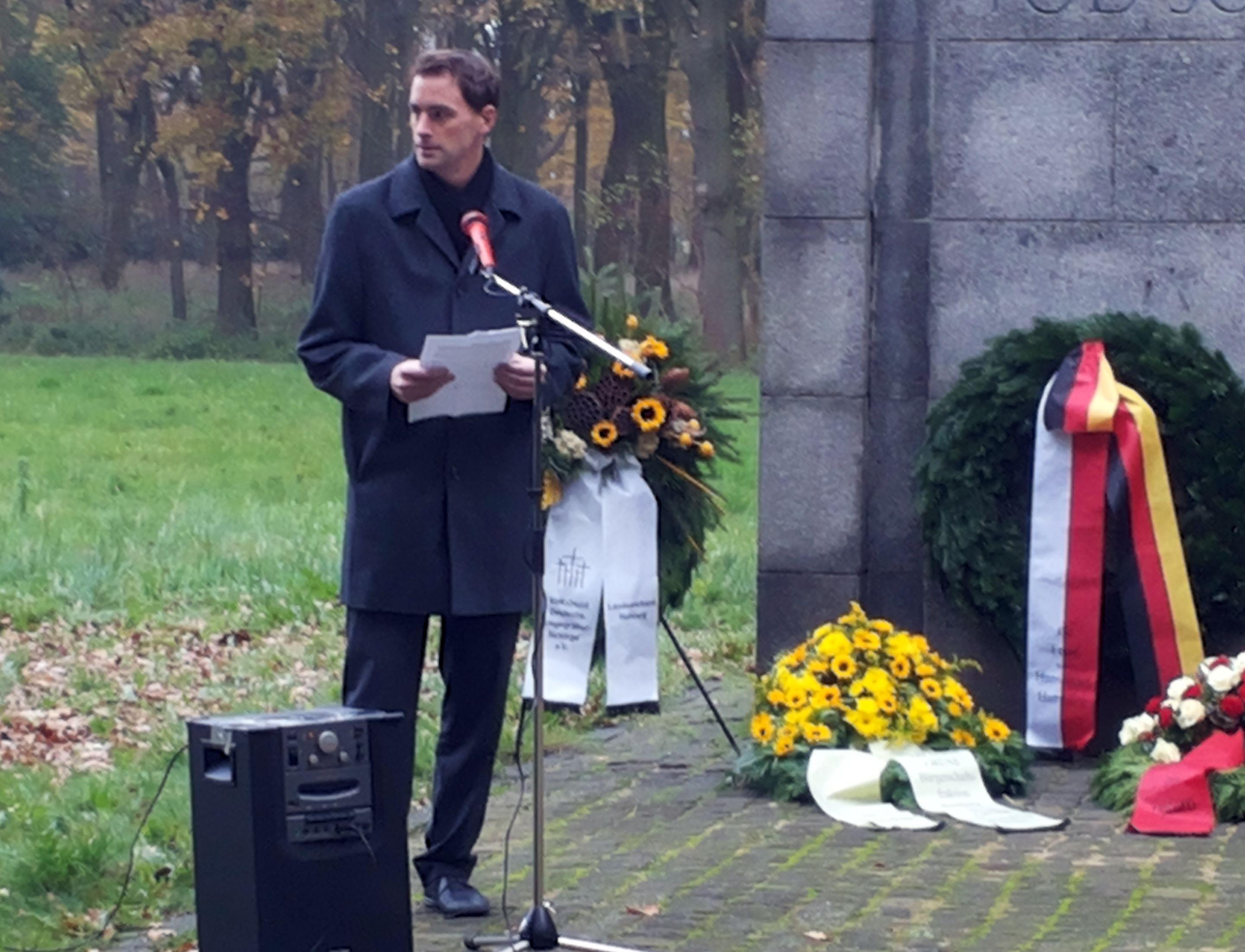 20131117_104312 Rede zum Volkstrauertag in der KZ Gedenkstätte Neuengamme (Nov. 2013)