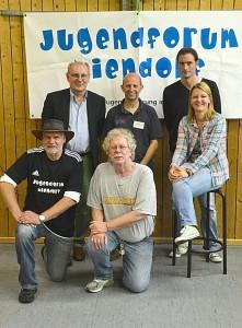 Der Vorstand des Jugendforums Niendorf