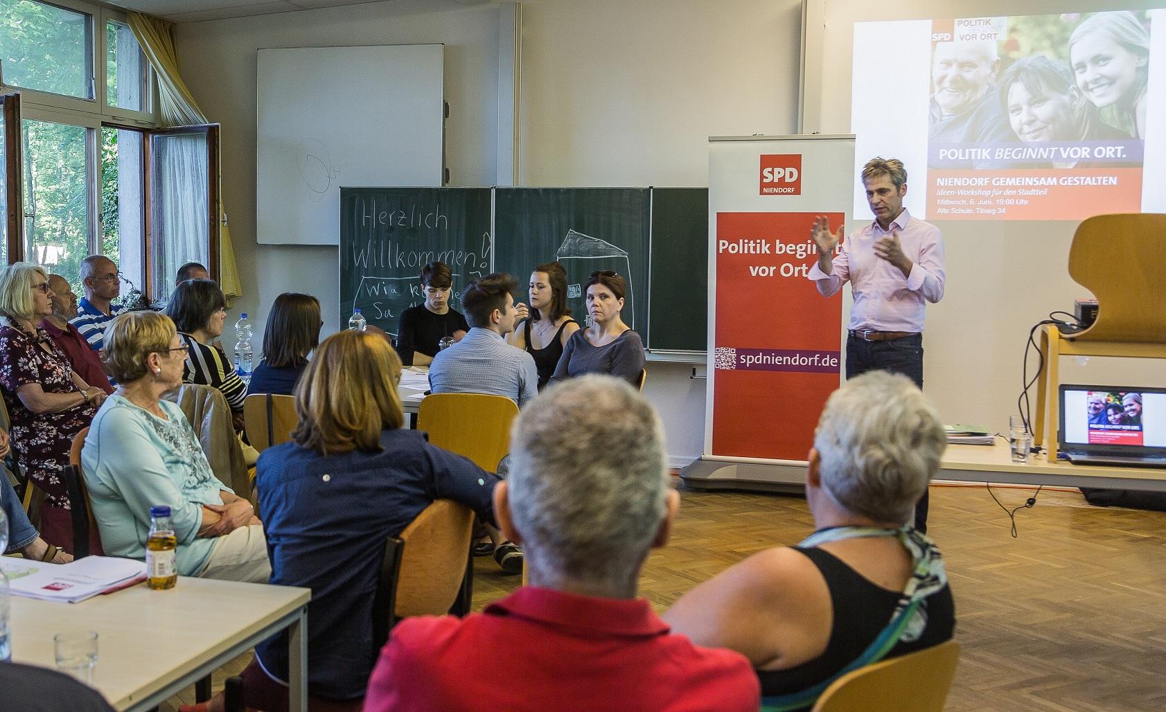 """Niendorf gemeinsam gestalten"""" – Gute Ideen und Diskussionen bei ..."""