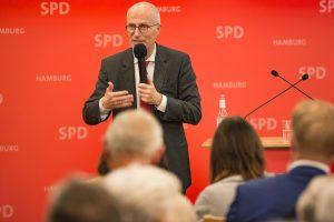 Bürgermeister Peter Tschentscher zu Gast im Wahlkreis